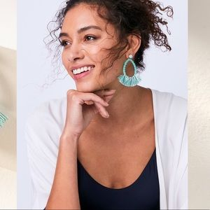 Anne Fringe Earrings (Versatile 2 in 1)